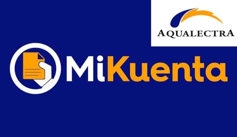 Online je rekening van Aqualectra ontvangen – MiKuenta
